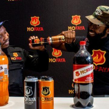 DJ SBU LAUNCHED MOFAYA SOFT DRINKS RANGE