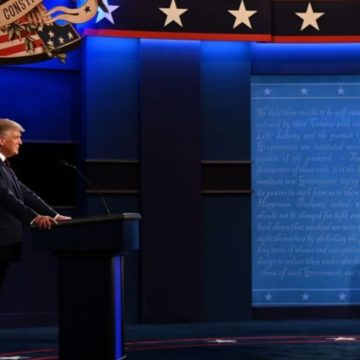 'I don't want to pay tax': Trump grilled over tax returns report in presidential debate