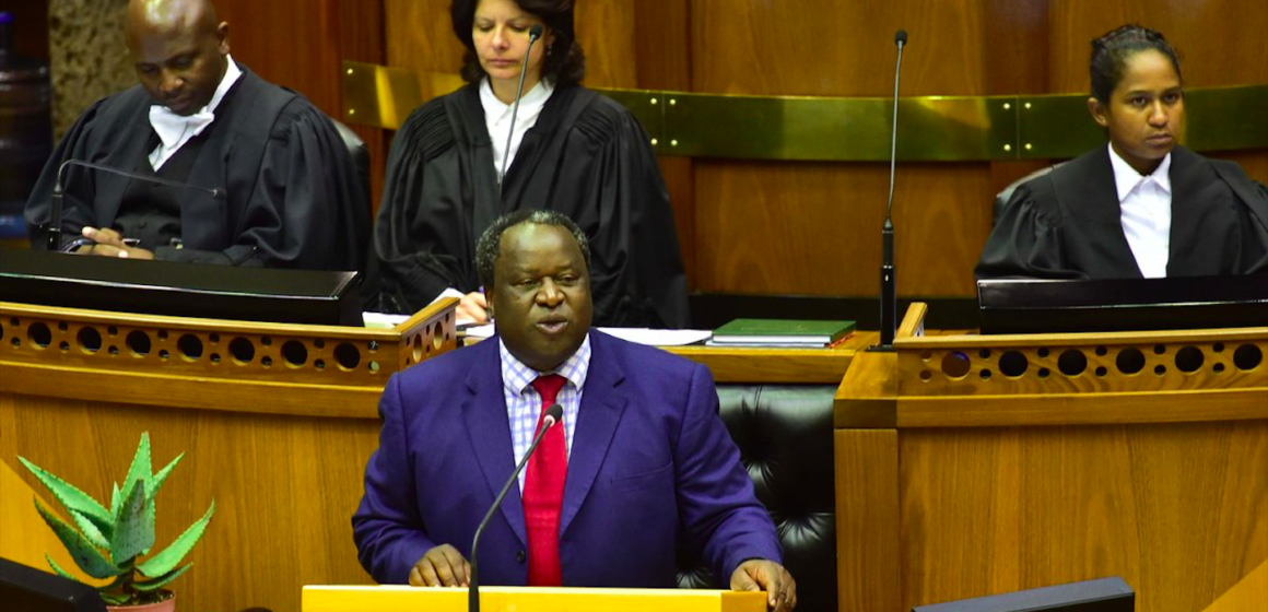 Finance Minister Mboweni on Infrastructure, Eskom and Job Creation