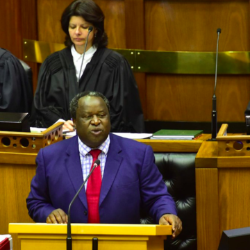 Finance Minister Tito Mboweni to Table Medium Term Budget on the 21 October