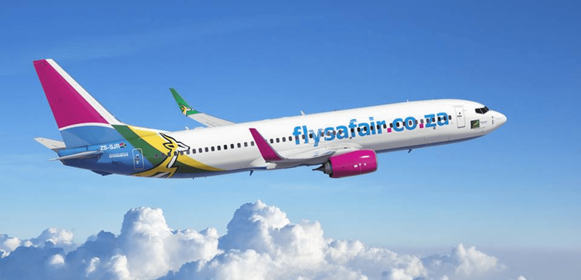 FlySafair adds Flights to help People of Durban with Food Supplies