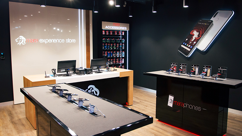 Smartphone Maker: Mara Phones Opened its Flagship Store In Maponya Mall, Soweto