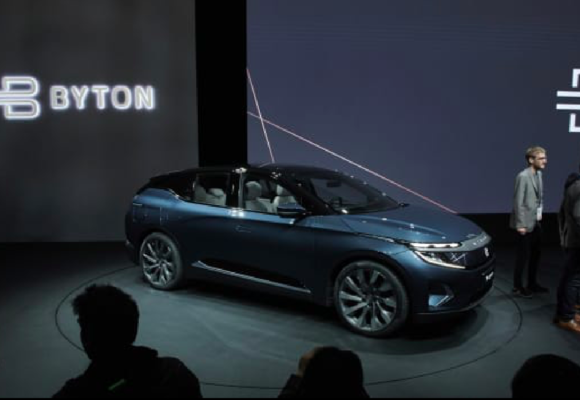 Chinese Electric Carmaker Byton to Produce Apple Cars