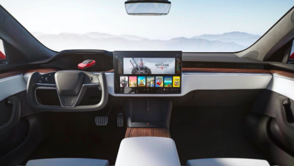 Tesla's Model S and Model X's new Interior Revealed