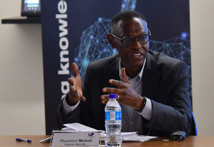 Phumlani Moholi Steps Down as Rain Executive Director