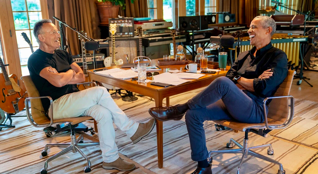 President Barack Obama & Bruce Springsteen Launches 'Renegades' Podcast on Spotify