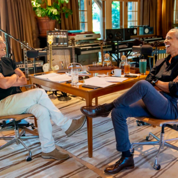 Former President Barack and Bruce to Publish a Book based on their Podcast