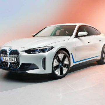 BMW's first electric Sedan Revealed