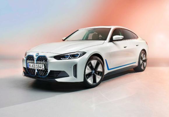 BMW's first electric Sedan Revealed
