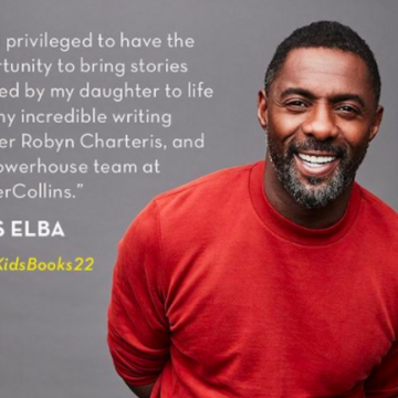 Idris Elba join Forces with HarperCollins to Publish Children's books