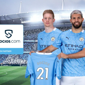 Man City teamed up with Socios.com to launch Crypto fan token