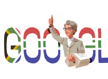 Google celebrate Helen Joseph's 116th Birthday with a Google Doodle