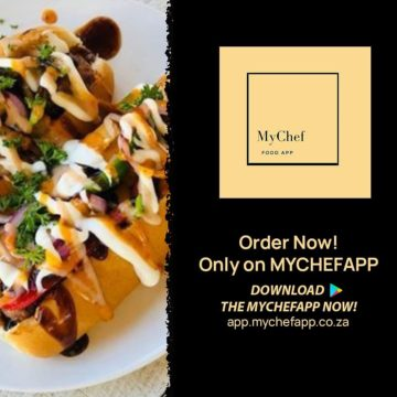 New SA food delivery App service MyChef to Rival with Uber Eats and Mr D Food