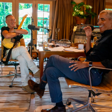 Enjoy President Obama & Bruce Springsteen's Last Episode of their Podcast