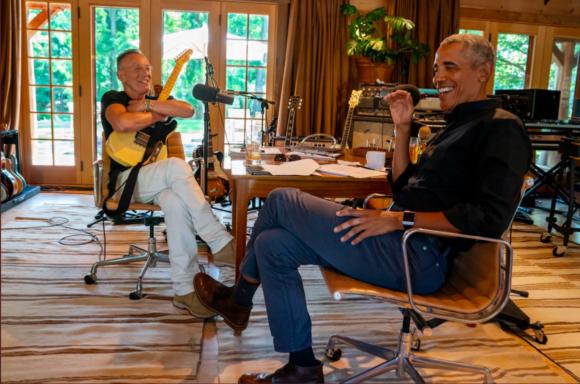 Enjoy President Obama & Bruce Springsteen's Last Episode of their Podcast