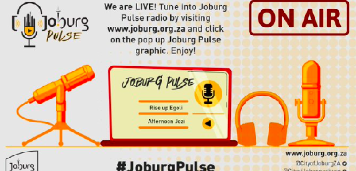 City of Joburg Launched #JoburgPulse, an Online Radio Station