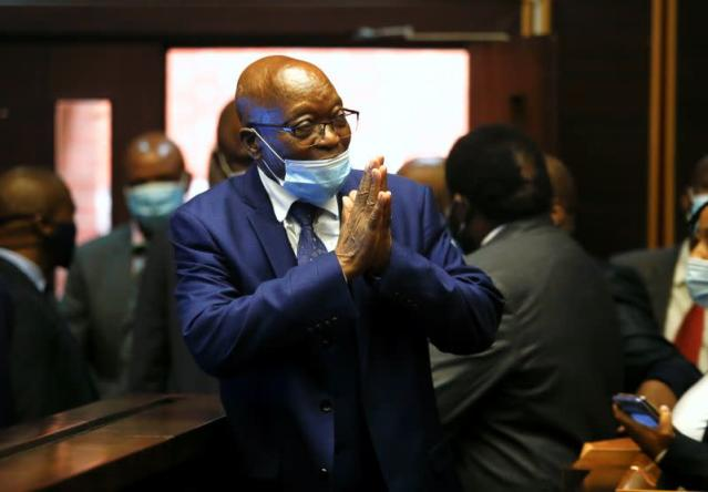 ANC Reject Political Solution for Jacob Zuma to Avoid Jail – Report