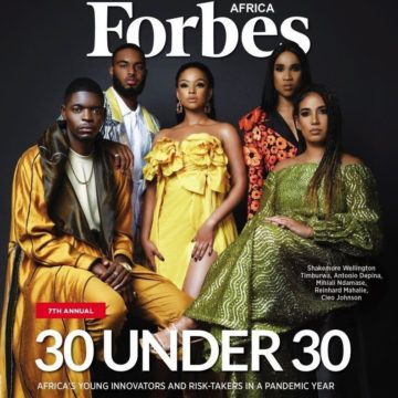 Forbes Africa Magazine Announces 30 Under 30 Changemakers for 2021