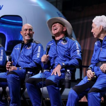 Breakthrough Moment for The Space Tourism Sector – Jeff Bezos