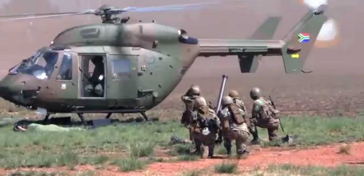SA Army Deployed in KZN and Gauteng to help Police to Maintain Law & Order