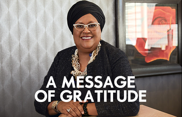 A Message of Gratitude to Mzansi by Woolworths CEO Zyda Rylands