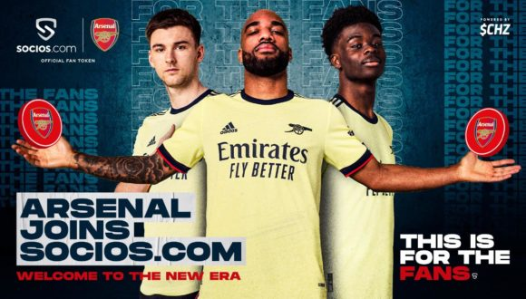 Arsenal Launches a new NFT Fan Token on Socios