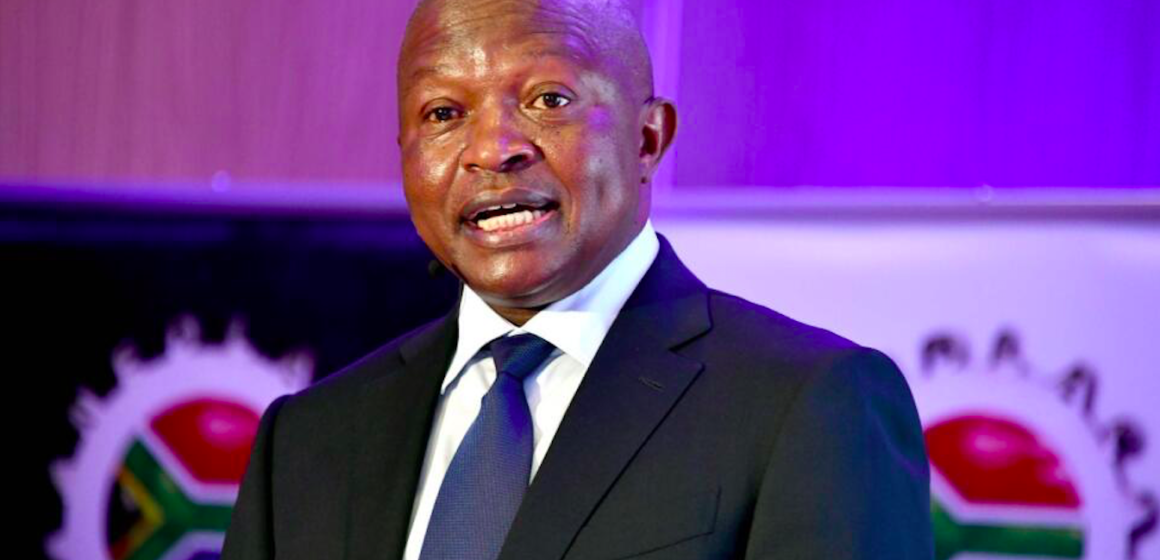 ANC is Worried about Deputy President David Mabuza's Health