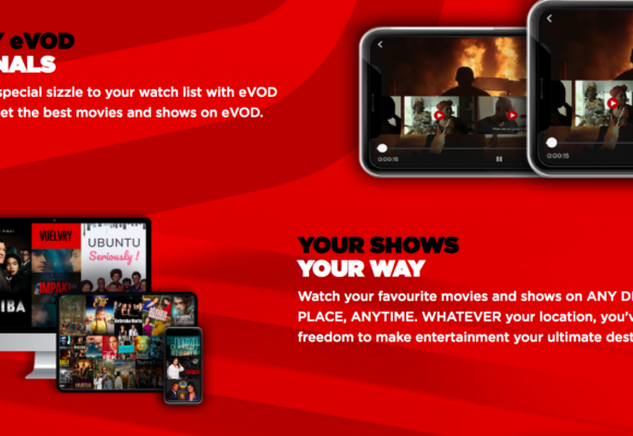 eTV Launched Streaming Service eVOD to Compete with Netflix & Showmax
