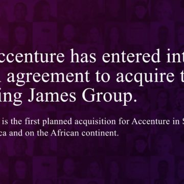 Accenture to Buy South African Creative Agency King James Group